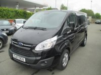 Ford Transit Custom 2.0 TDCi 130ps Low Roof Limited Van