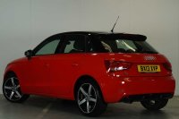 Audi A1 Sportback Amplified red 1.6 TDI 105 PS 5 speed