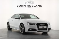 Audi A5 2.0 TDI 177 Quattro Black Edition 2dr S Tronic, 19 Inch Rotor Alloys, Sat Nav, Bang & Olufsen, Bluetooth, Privacy, Audi Music Interface, Heated Seats, Black Styling Package, Front & Rear Park Assist