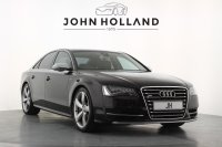 Audi A8 S8 TFSI Quattro 4dr Tip Auto, Full Audi Service History, 21inch Rotor Design Wheels, Navigation, Bluetooth, DAB, 6 CD Changer, MMI ipod Connection, BOSE surround Audio, Audi Drive Select.