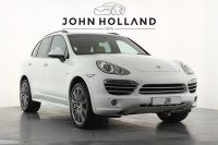 Porsche Cayenne Platinum Edition Diesel 5dr Tiptronic S, 1 Owner, Full Porsche Service History, Sports Design Package, Air Suspensio, Pan Roof, 21inch Wheels, Seat Centres Interior Package, Adaptive Sports Seats, Sports Chrono Package, PCM Navigation