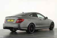 Mercedes-Benz C Class C63 Coupe Performance Pack Plus, Composite Performance Brakes, 19 inch Alloys, Panoramic Roof, Comand Nav, FMBSH