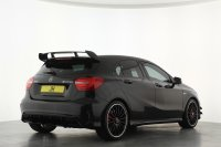 Mercedes-Benz A Class A45 4Matic 5dr Auto, Facelift Aerodynamic Package, 19inch Black AMG Wheels, Panoramic Sliding Sunroof, Memory Package, Sports Exhaust, AMG Night Pack, AMG Exclusive Pack, Comand Navigation, Bluetooth, DAB.