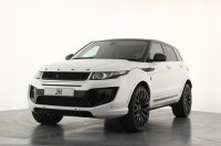 "Land Rover Range Rover Evoque 2.2 SD4 Pure Tech 1 Off Individual Example Finished in White Mat Pearl 22"" Kahn Alloys Kahn Rolex Interior Panoramic Roof Satellite Navigation Stunning Example"