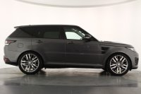 """Land Rover Range Rover Sport 5.0 V8 S/C SVR 5dr Auto, 22"""" Alloys, Panoramic Sunroof, Navigation, Bluetooth, Privacy Glass, Illuminated Entry Guards, Meridian Sound, DAB Radio, Switchable Sports Exhaust, Heated Carbon Steering Wheel with Paddle Shift."""