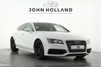 Audi A7 3.0 TDI Quattro S Line 5dr S Tronic, Technology Pack which includes Navigation Plus, Bluetooth and Head Up Display, 20inch Twin Spoke Wheels, Privacy Glass, Cruise Control, Electronically Controlled Automatic Air, Heated Seats.