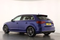 Audi A3 S3 TFSI Quattro 5dr S Tronic 1 Owner Full Audi Service History 18inch Alloy Wheels Technology Pack inc Satellite Navigation Privacy Glass Comfort Pack Panoramic Glass Sunroof Rear Parking System Cruise Control Bang & Olufsen Sound System
