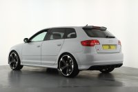 Audi RS3 2.5T FSI RS3 Quattro 5dr S Tronic, Full Audi Service History, 19inch Black Rotor Alloys, Navigation, Bluetooth, BOSE, Cruise Control, Xenon Headlights, Privacy Glass, Centre Arm Rest, Heated Front Seats.