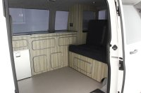 Volkswagen Transporter T30 S 102Tdi SWB, 2 Birth Camper Conversion with Fridge, Sink, Slide Out Bed and much more