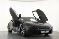 "BMW i8 2dr Auto, 1 Owner, BMW Service Inclusive 5years or 60000miles, 20"" W Spoke Alloy Wheels, Harmon Kardon Audio, Navigation, Bluetooth, Surround Cameras, Reversing Camera, DAB Radio, Heads Up Display, BMW iBlue Seat Belts."
