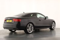 Audi A5 S5 Quattro Tiptronic, 20 Inch Double 5-Spoke Alloy Wheels, Glass Sunroof, Technology Pack High, Satellite Navigation, Bluetooth, Keyless, Front and Rear Park Assist, Reversing Camera, Adaptive Cruise Control, Heated Electric Front Seats, Great Spec