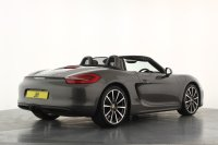 Porsche Boxster 2.7 PDK, 20 Inch Carrera Alloy Wheels, PCM Satellite Navigation, Bluetooth, Climate Control, DAB Radio with Sound Package Plus, Heated Front Seats, Front and Rear Parking Sensors, Electric Folding Mirrors, Sports Tail Pipes, Wind Deflector, Stunning Examp