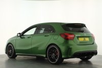 Mercedes-Benz A Class A45 4Matic 5dr Auto, 1 Owner, AMG Night Pack, AMG Performance Exhaust, Panoramic Roof, Harmon Kardon Audio, Reverse Camera, Navigation, Bluetooth and much more.