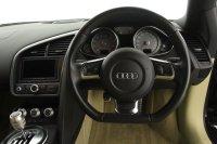 "Audi R8 4.2 FSI Quattro, 19"" Black Alloy Wheels, Carbon Sigma Side Blades, Satellite Navigation Plus, Multi Function Flat Bottom Leather Steering Wheel, Xenon Headlights, 2 x SD Slots, Full Service History."