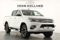 "Toyota Hilux Invincible X D/Cab Pick Up 2.4 D-4D Auto Satellite Navigation Reversing Camera DAB Radio Lane Departure 18"" Alloys, Full Leather Cruise Control Mountain Roller Shutter Back Toyota Tow Bar 1 Owner From New Stunning"