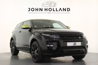 Land Rover Range Rover Evoque 2.2 SD4 Special Edition 3dr Auto, Huge specification to include Wing Back Performance Seats, Panoramic Roof, 20inch Wheels, Navigation, Bluetooth, Reverse Camera, Front and Rear Parking Sensors, Electric Memory Seats, Heated Front Seats.