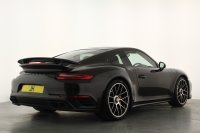 Porsche 911 991 Turbo S PDK, Glass Pan Roof, Painted Side Skirts, Carbon Entry Guards, Privacy, Sports Seats Plus, Extended Leather with Red Contrast Stitch, Carbon Interior, Huge Spec 1 Owner