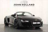 "Audi R8 Spyder 4.2 FSI Quattro R Tronic 19"" Alloys Satellite Navigation Bluetooth Carbon Interior Inlays, Stunning Example"