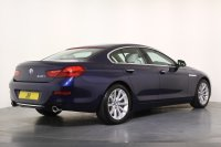 BMW 6 Series 640i SE 4dr Auto, 1 Owner, Vat Qualifying, Driving Assistant Plus , Surround View and Reverse Cameras, Lumbar Support, Navigation System BMW Professional Multimedia, Heated Front Seats, DAB Digital Radio.