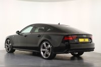 Audi A7 3.0 TDI Quattro 272 Black Edition S Tronic, Facelift, Matrix LED Headlights, 21 Inch Rotor Alloys Wheels, Black Styling Pack, Park Pilot, Front and Rear Parking Sensors, Reversing Camera, Satellite Navigation, Bluetooth, BOSE, 1 Owner, Full Audi History