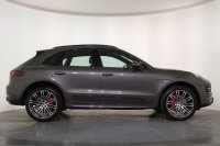 Porsche Macan Turbo PDK, 21 Inch 911 Turbo Design Alloy Wheels, Carbon Side Blades, Sports Chrono Package, Panoramic Glass Sunroof, PCM Satellite Navigation, Bluetooth, DAB Radio, BOSE Surround Sound, Bi-Xenon Headlights, Electric Heated Seats, Full Porsche History