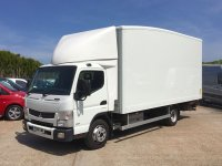 FUSO CANTER 7C15 BOX WITH TAIL LIFT
