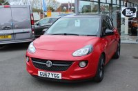 VAUXHALL ADAM 1.2 16V, ENERGISED, ALLOY WHEELS, AIR CON, INTELLINK AUDIO WITH TOUCH SCREEN, B/TOOTH, FULL ELECTRICS, DELIVERY MILES, 67 REG