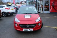 VAUXHALL ADAM 1.2 16V, ENERGISED, 17 INCG ALLOY WHEELS, AIR CON, B/TOOTH, INTELLINK AUDIO SYSTEM, BLACK ROOF, TOP SPEC CAR, DELIVERY MILES 67 REG