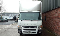 FUSO CANTER FUSO Canter 7C15 Duonic Box Van
