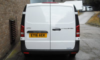 Mercedes-Benz Vito 114cdi BlueTec LWB White Panel Van