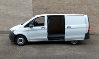 Mercedes-Benz Vito 109cdi LWB White Panel Van