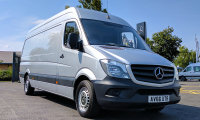 Mercedes-Benz Sprinter 314cdi LWB HR Brilliant Silver Panel Van (Air Con)