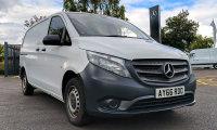 Mercedes-Benz Vito 114cdi BlueTec LWB Arctic White Panel Van