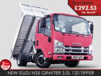 Isuzu Trucks N35-T Grafter Tipper - BRAND NEW TIPPER 292.53 + VAT P/M