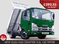 Isuzu Trucks N35-T Grafter BRAND NEW TIPPER 292.53 + VAT P/M