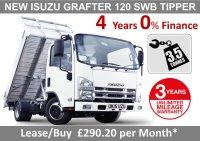 Isuzu Trucks N35-T Grafter Tipper - BRAND NEW TIPPER 0% FINANCE - 290.93 P/M