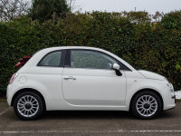 Fiat 500 1.2 Lounge 2dr [Start Stop]Convertible 1 owner