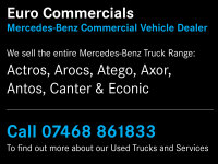 Mercedes-Benz Axor 1824 Distribution Trim Extended Day Cab Package