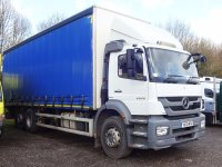 Mercedes-Benz Axor 2529L Distribution Trim Extended Day Cab Package