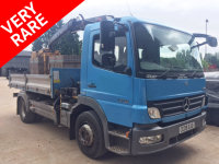 Mercedes-Benz Atego 1318 DAY TIPPER GRAB, VERY RARE, LOW MILEAGE