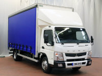 FUSO CANTER 7C18 43 curtainsider, Delivery Miles Only