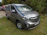 VAUXHALL VIVARO Vivaro L1 H1 1.6 CDTI (120ps) 2.7t Sportive Van (Euro 6)