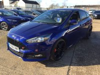Ford Focus ST-2 2.0 TDCi DIESEL (185 PS) 6 speed 5 door.***SYNC2 SAT NAV & BLACK STYLE PACK***
