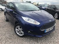 Ford Fiesta 1.0 T ECOBOOST (100 PS)  STOP / START  ZETEC 3 door***SAT NAV & CITY Pack***