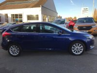 Ford Focus 1.5 TDCi (120PS) 6 speed TITANIUM  5 door.