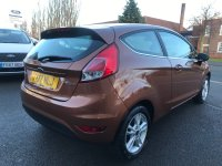 Ford Fiesta 1.0 T ECOBOOST (100 PS)  ZETEC 3 dr***LOW MILES***