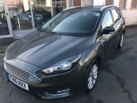 Ford Focus 1.0 T  ECOBOOST  (125 PS)  TITANIUM 5 dr ESTATE***SYNC2 SAT NAV***