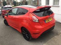 Ford Fiesta 1.0 T Ecoboost ST-LINE RED EDITION 3 door.