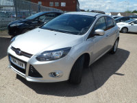 Ford Focus 1.6 TDCi (115 PS) 6 SPEED TITANIUM NAVIGATOR 5 DOOR.