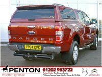 Ford Ranger 2.2 TDCi Limited 2 Double Cab Pickup 4x4 4dr (EU5) -LEATHER - HARD TOP -LOW MILES